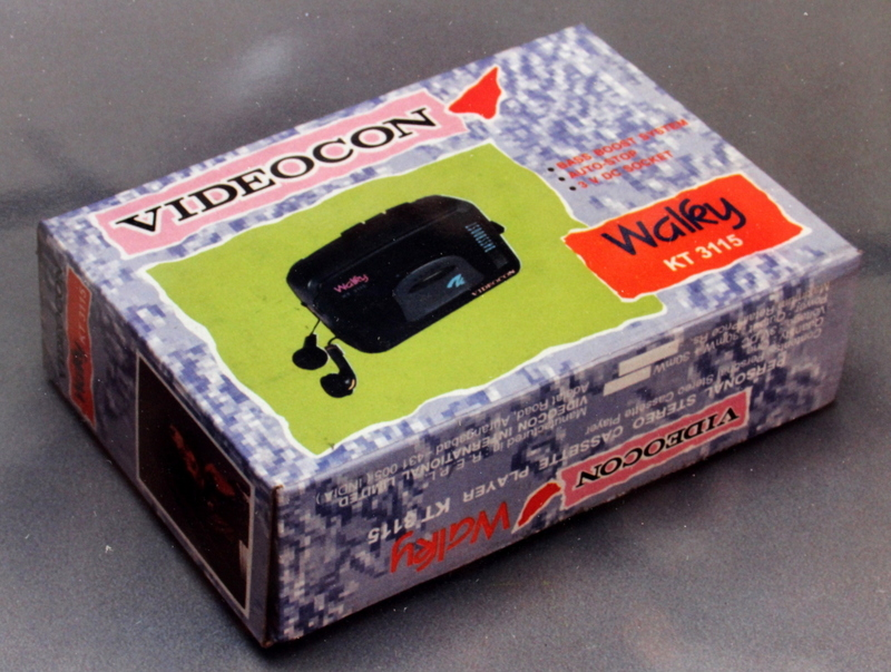 Packaging design for Videocon Walky